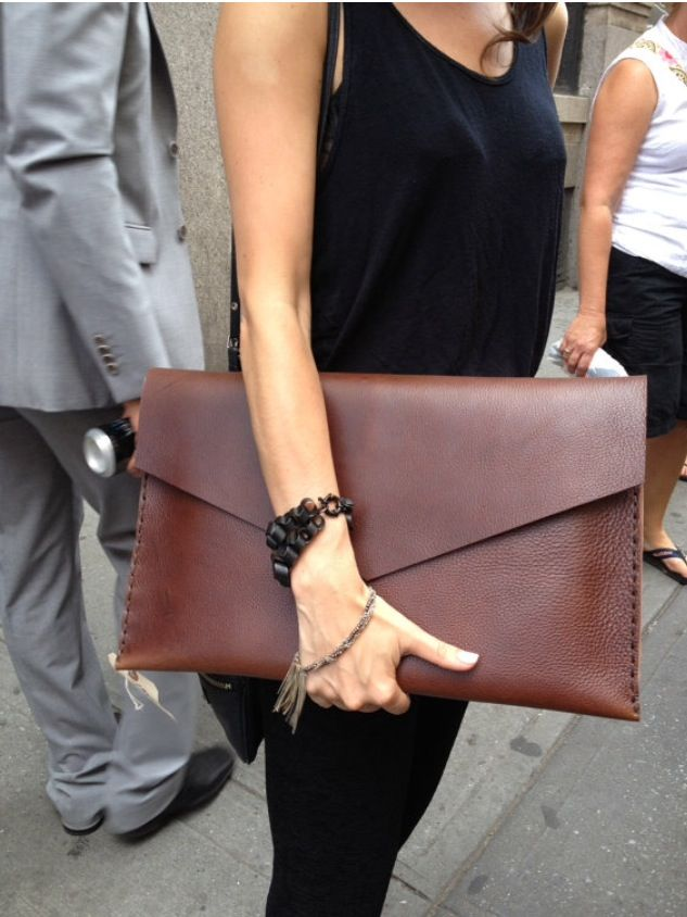 Hand made leather <3