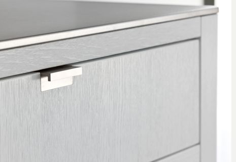 Finger Pull Handles Warendorf Kitchens New Pietboon