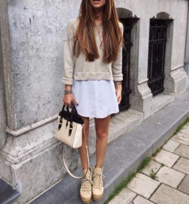 Topshop Blogger Schuhe beige