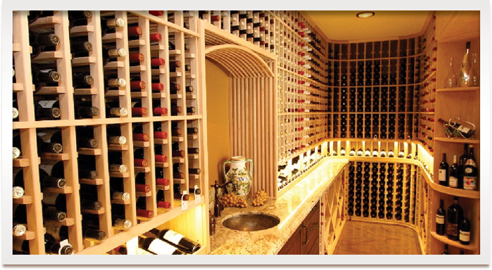 Wine cellar racks are efficient wine storage furniture that can be customized according to your own specification and storage needs. Coastal Custom Wine Racks are available in various styles and sizes so you can choose the best option for you. Click here to view the wine racks gallery - http://www.wineracksbycoastal.com/category.aspx?categoryID=21.