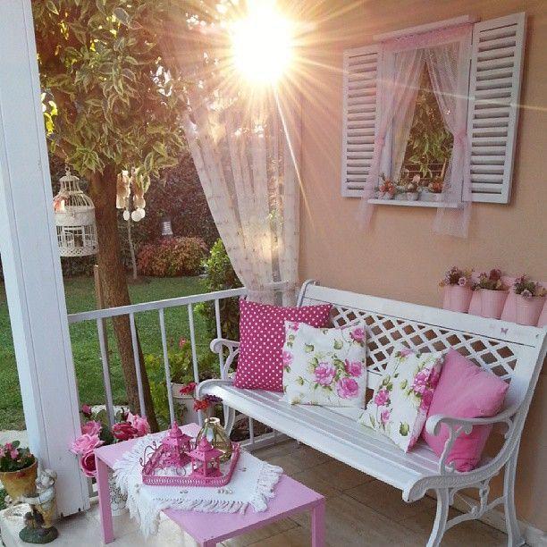 Arredare Terrazzo Shabby Chic.Arredare Un Terrazzo Shabby Chic Garden Decoration