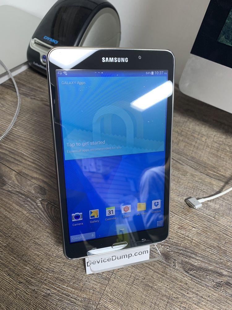 Samsung Galaxy Tab 4 8gb On Wifi Tablet Is Fully Functional But Is Used Ebay Galaxy