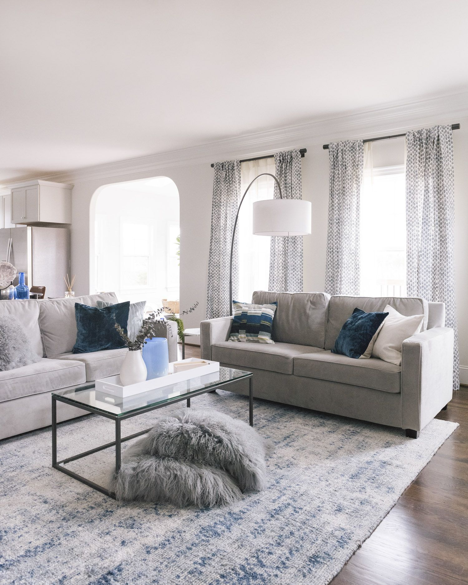 A Relaxing North Carolina New Build Staged To Sell Front