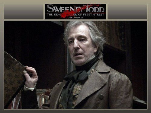 Alan Rickman - Sweeney Todd Premiere - Alan Rickman Photo