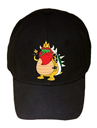 'Plumbing Time' King Character Funny Video Game & TV Show Cartoon Parody - 100% Cotton Adjustable Hat