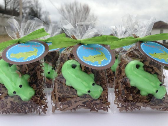 Crocodile Soaps Baby Shower Party Favors Birthday Alligator Via Etsy Baby Shower Party Favors Recuerdos Baby Shower Alligator Birthday Parties