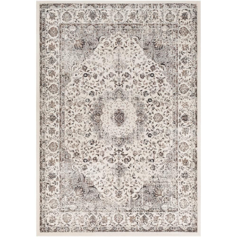 Artistic Weavers Kathy Cream 5 Ft 3 In X 7 Ft 3 In Oriental Area Rug Ivory Area Rugs Beige Area Rugs Traditional Area Rugs