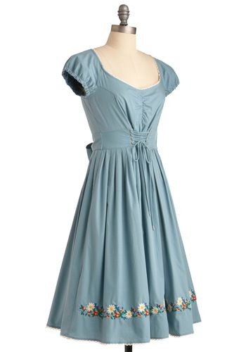 Just a sweet dress with great detailing! | Mod cloth ...