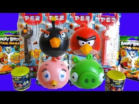 Angry Birds MASH'EMS KNEX STAR WARS 1+2 - YouTube | COTILLÓN