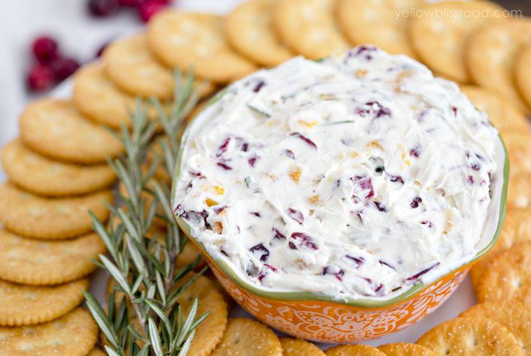 Cranberry Rosemary Cheese Spread Recipe