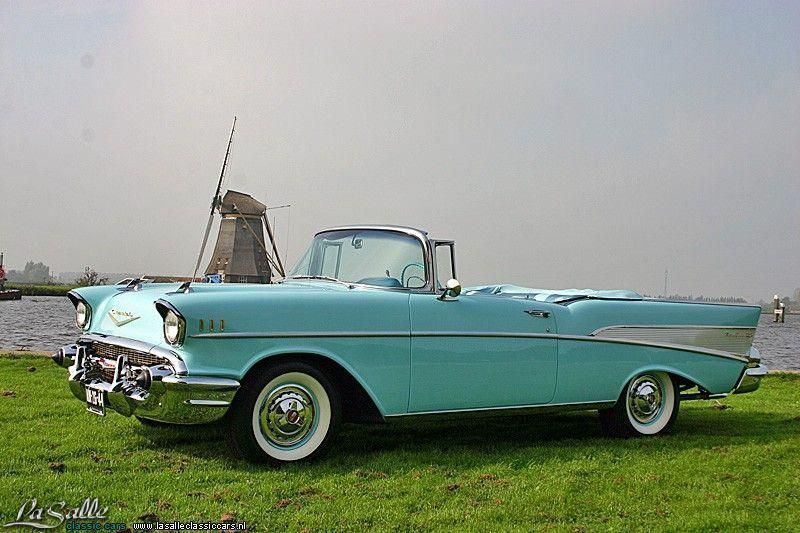 Lasalle Classic Cars Collection 1957 Chevrolet Bel Air Convertible 75 000 Chevrolet Bel Air 57 Chevy Bel Air Classic Cars