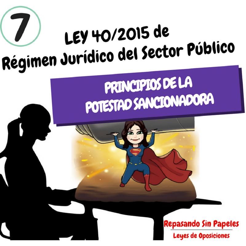 Artículos 25 31 Ley 40 2015 Principios De La Potestad Sancionadora Ley 40 2015 De Régimen Jurídico Del Sect Oposicion Instituciones Penitenciarias Juridico