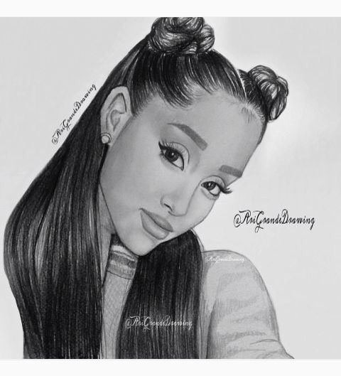 Ariana grande art drawing