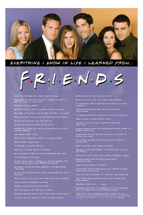 quotes from friends tv show about friendship