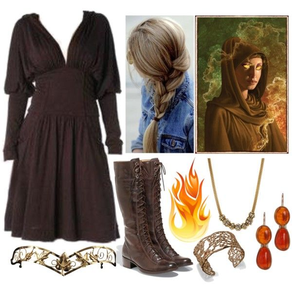"""Hestia (Goddess of the Hearth and Home)"" by lilacmayn on Polyvore"