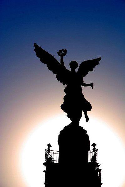 El Angel Lugares Hermosos De Mexico Angel De La Independencia Proyectos De Historia