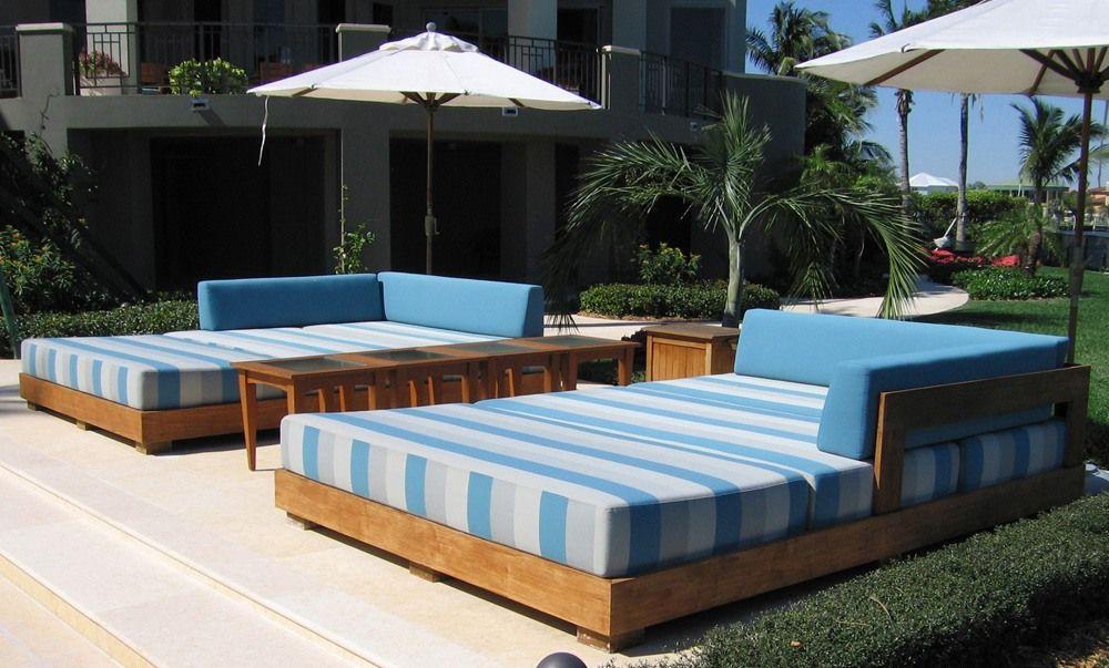 Wooden Outdoor Teak Daybeds The Best Wood Furniture Wood Bed Wood Bed Frame Wood Beds Wood Bed Frame Diy Wo Outdoor Daybed Outdoor Bed Outdoor Furniture
