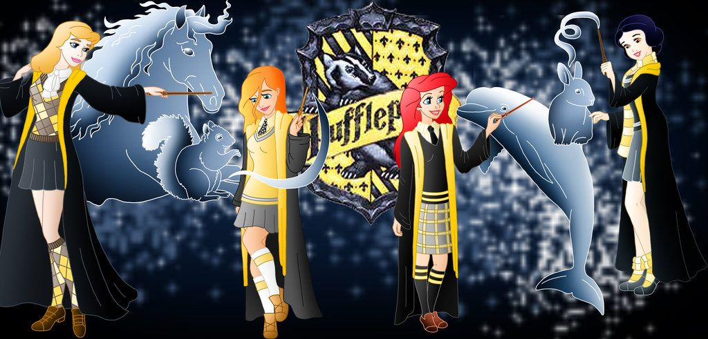 Disney Hogwarts Students: Hufflepuff
