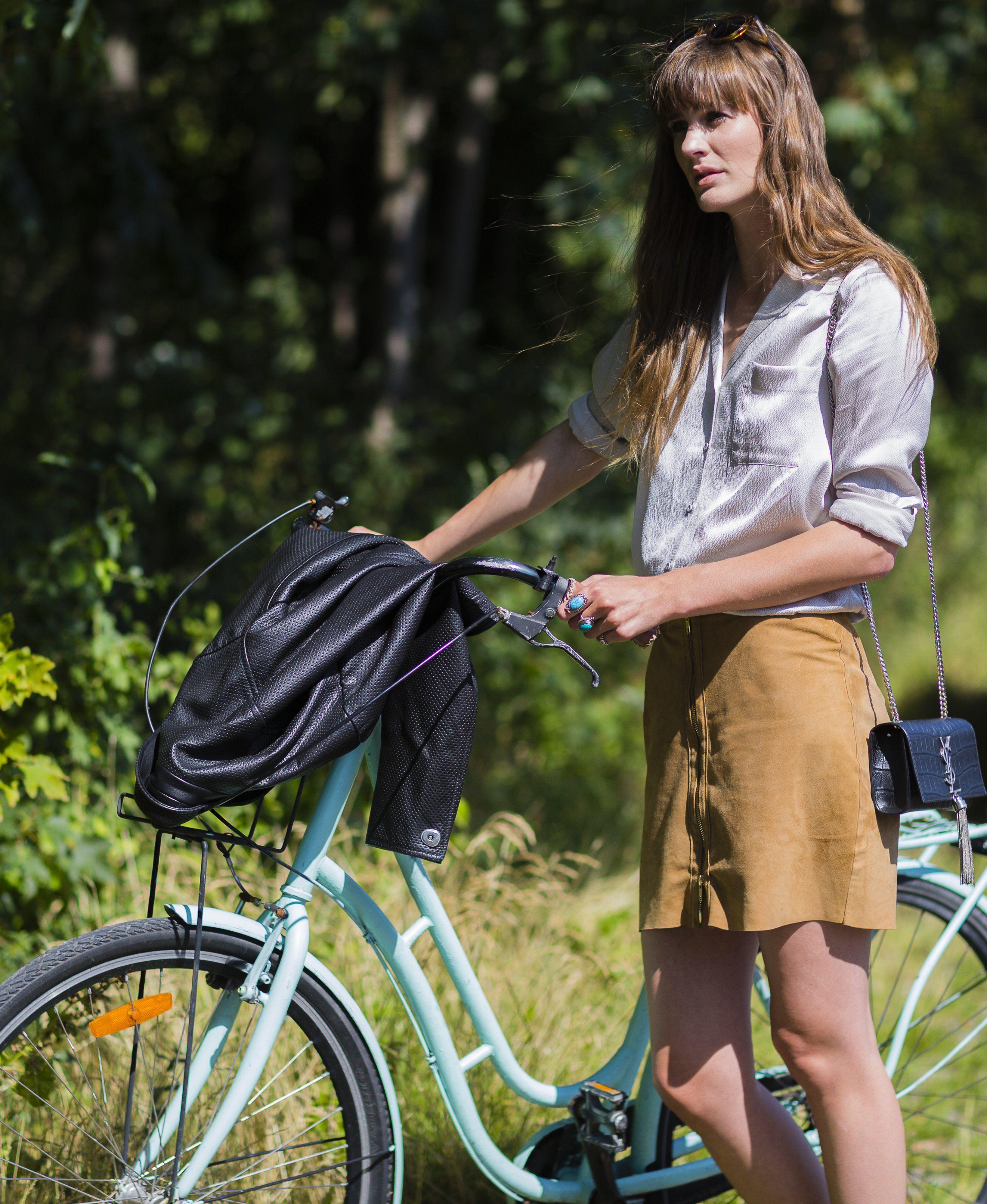 Best Cycling Street Style Photos of Copenhagen Fashion Week | bikes | Pinterest