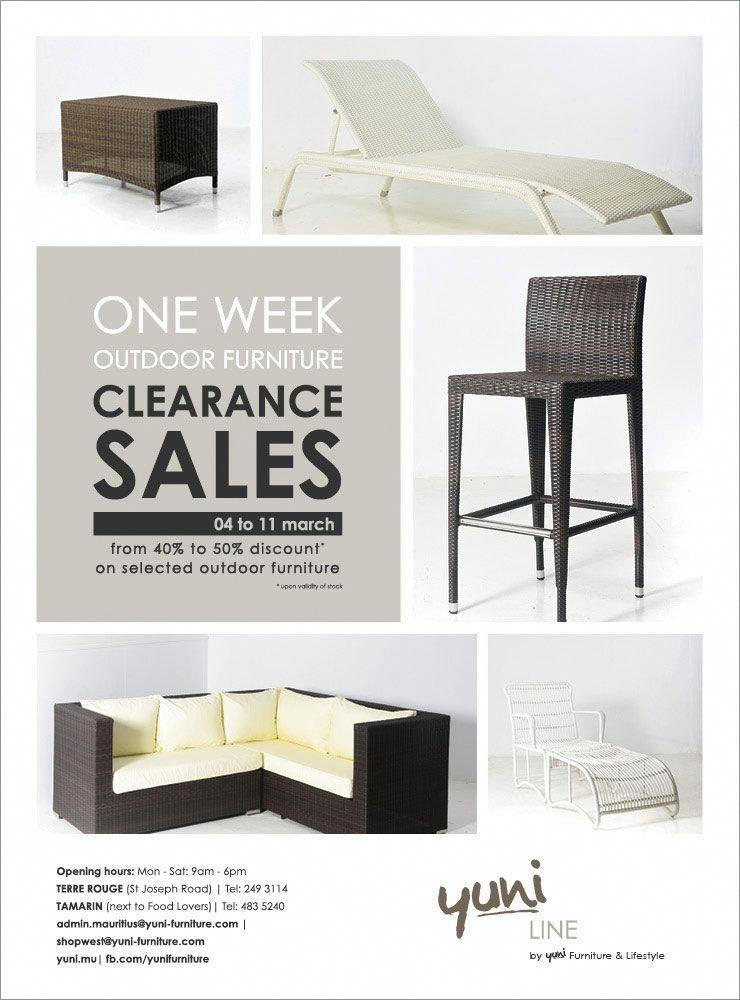 Yuni - Outdoor Furniture Clearance Sales. Tel: 249 3114 / 483 5240  #clearancefurniture - Yuni - Outdoor Furniture Clearance Sales. Tel: 249 3114 / 483 5240