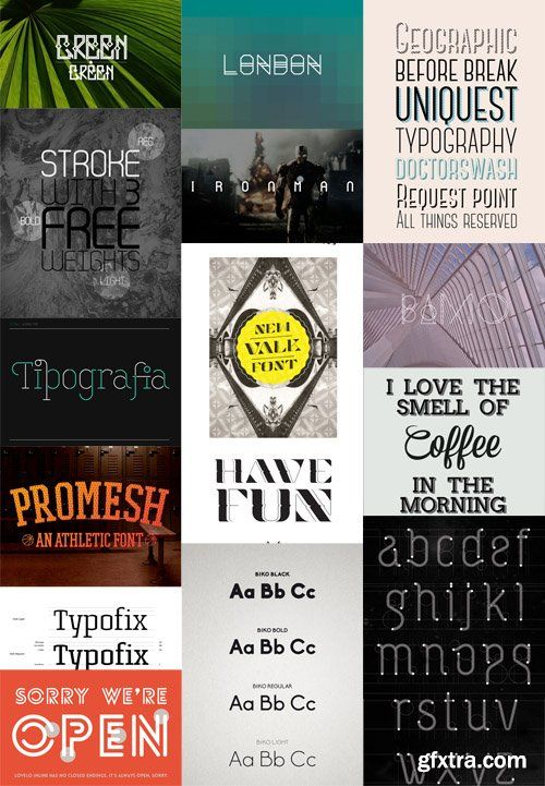 Download Creative Typography Fonts Pack | Creative typography, Font ...
