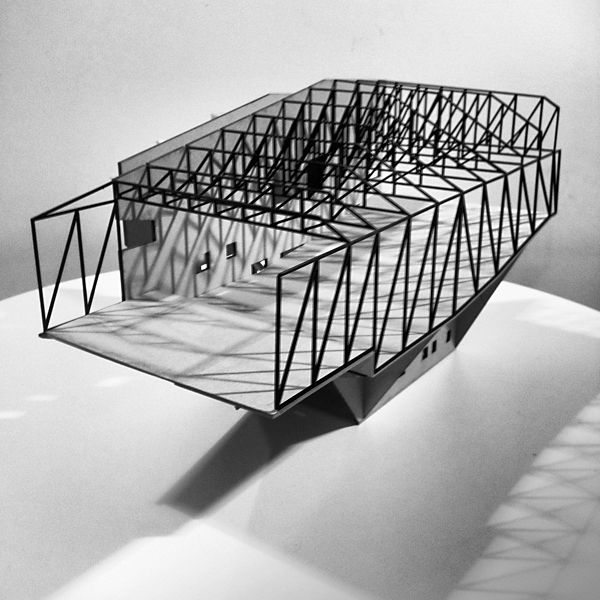 Model Ben Peake Steel Architecture Structural Model Architecture Model