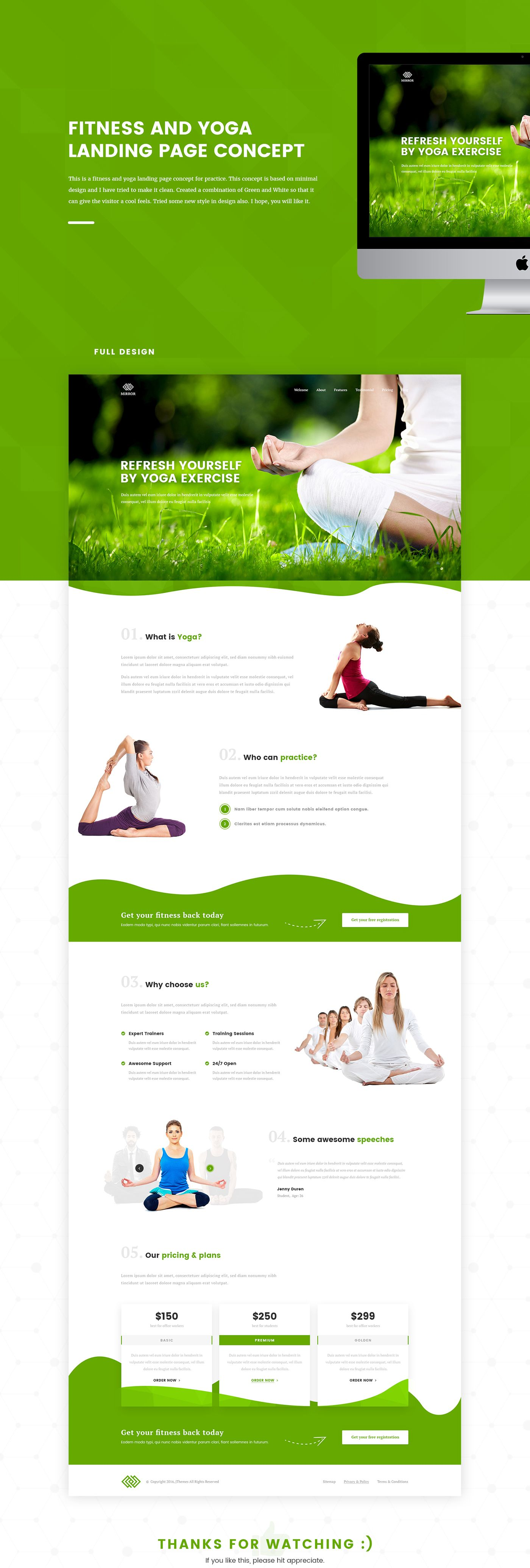 Showcase And Discover Creative Work On The World S Leading Online Platform For Creative Industries Landing Page Clean Web Design Mailer Design