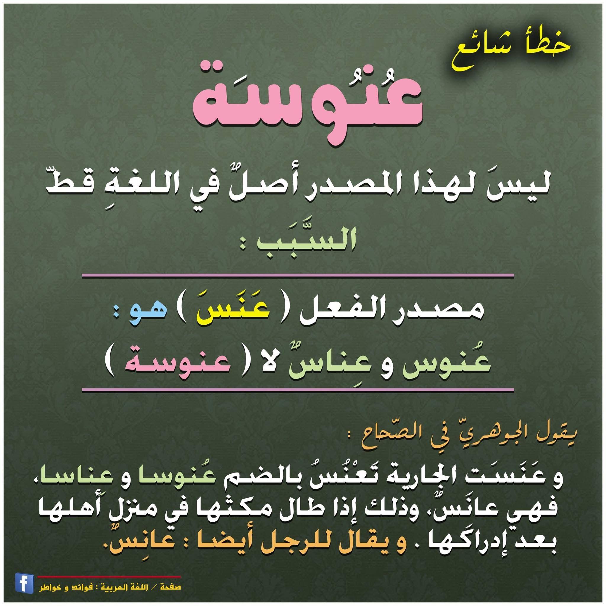 Pin By Eman On Arabic لغة عربية Learn Arabic Language Arabic Language Learning Arabic