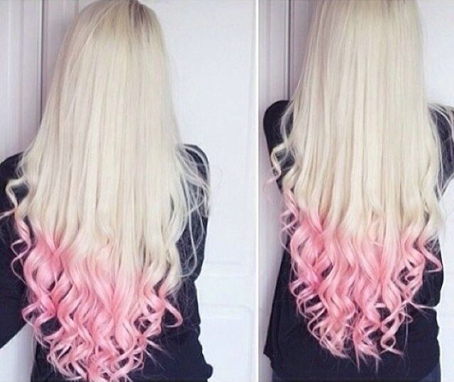 Top 25 Hottest Blonde To Pink Ombre Hair Colors Peach Hair Pink