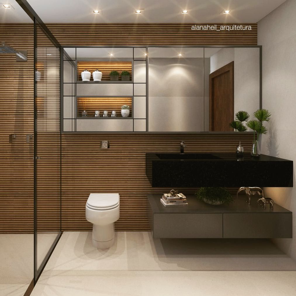 Banheiros Decorados 60 Ideias Fotos E Inspiracoes Decor Bathroom Bathtub