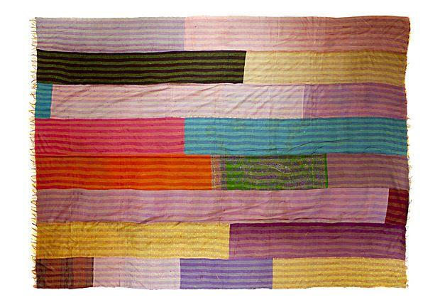 another silk quilt