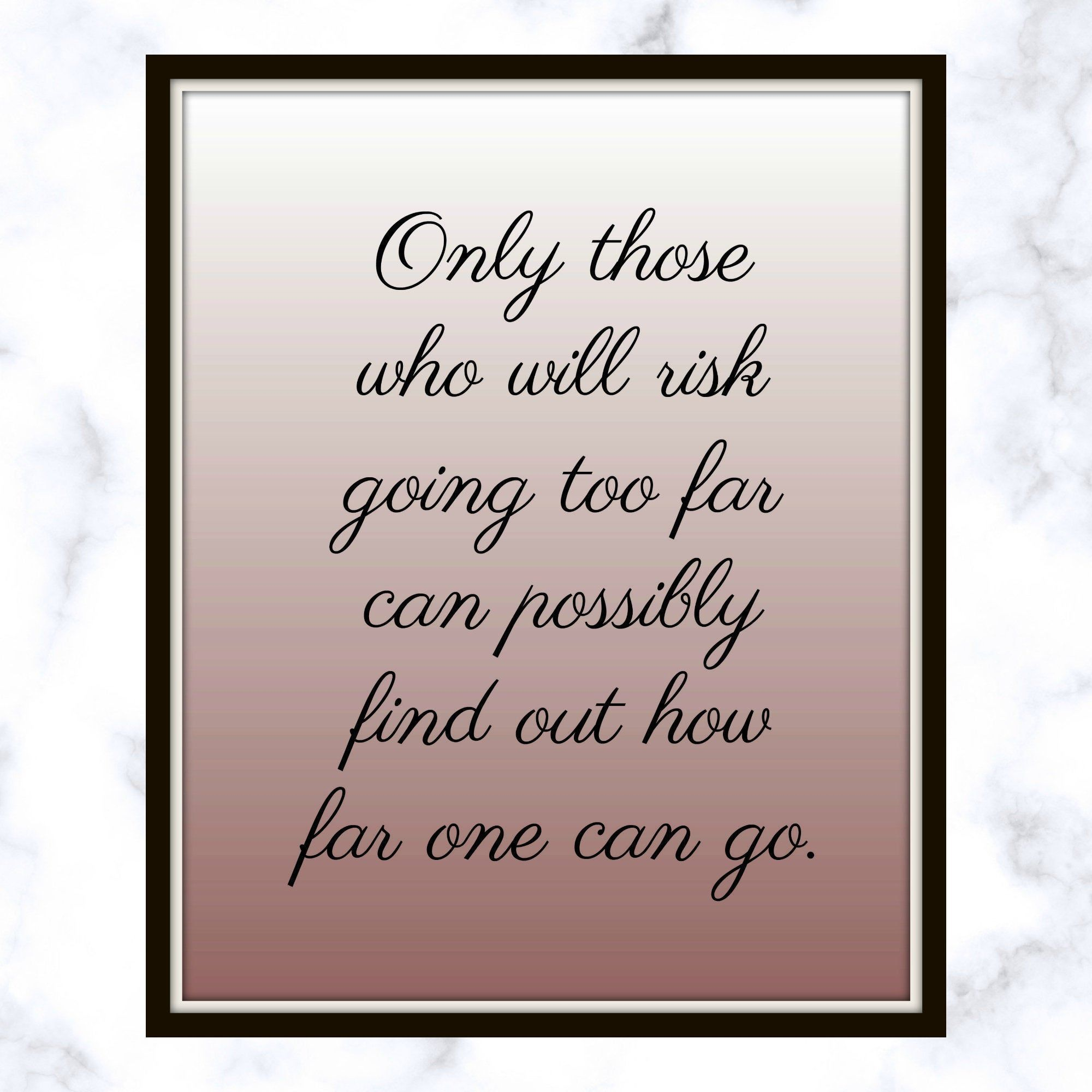 Only those who will risk going too far can possibly find out how far one can go. - T. S. Eliot - Quote - Printable - Taking Chances #quotesabouttakingchances Only those who will risk going too far can possibly find out how far one can go. - T. S. Eliot - Quote - Printable - Taking Chances #quotesabouttakingchances Only those who will risk going too far can possibly find out how far one can go. - T. S. Eliot - Quote - Printable - Taking Chances #quotesabouttakingchances Only those who will risk g #quotesabouttakingchances