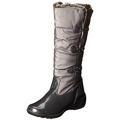 #Shoes #Apparel Totes 6894 Womens Sarah Gray Patent Snow Boots Shoes 7 Medium (B,M) BHFO #Christmas #Gifts