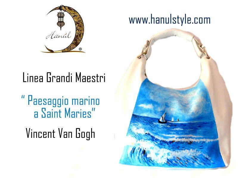 PAESAGGIO MARINO A SAINT MARIES, VAN GOGH, www.hanulstyle.com