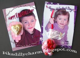 Pikadilly Charm: More Homemade Photo Valentine's!