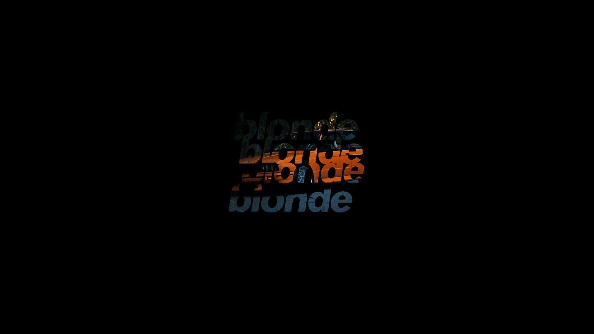 Blonde Minimalistic Wallpaper 1920x1080 Reddit Hd