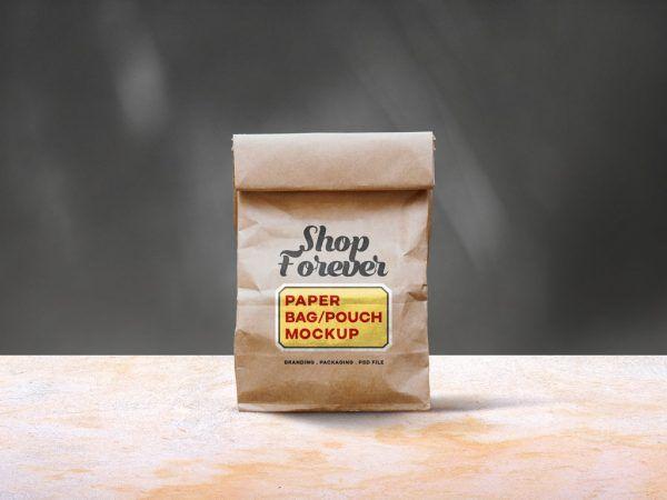Download All Free Mockups Page 5 Of 207 Mockup World Bag Mockup Paper Bag Paper Pouch