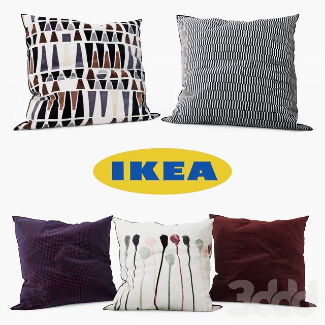 IKEA - Decorative Pillows set 6 | Декоративные подушки ...