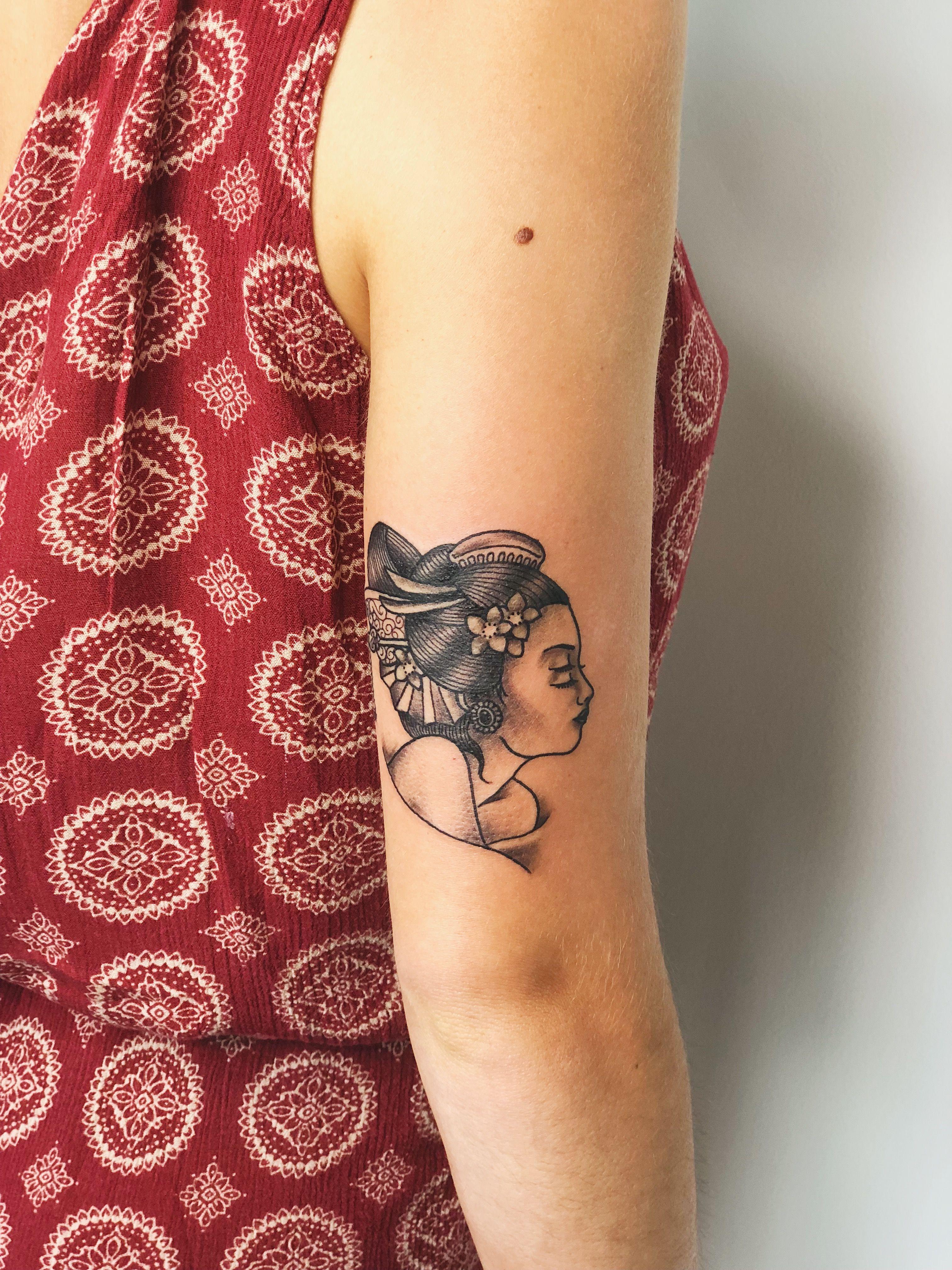 Geisha Tattoo . Bali Tattoo Artist . kolonitattoo