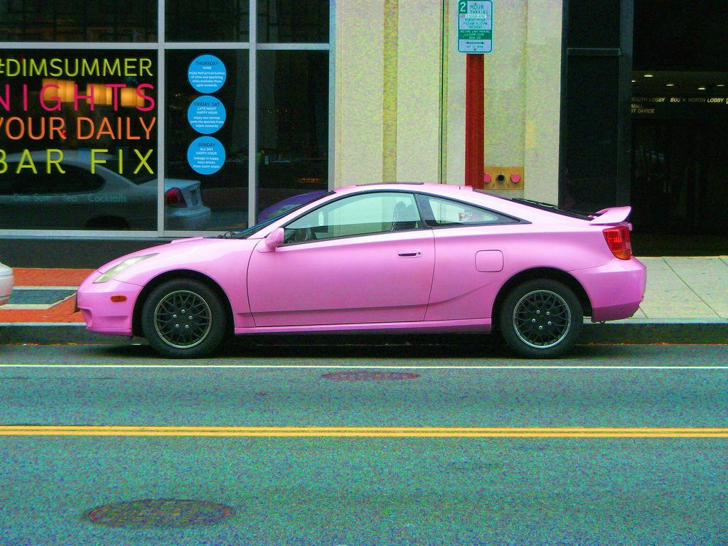 This Toyota #Celica Is Pretty In Pink! | Toyotau0027s Riding In Style |  Pinterest | Toyota Celica, Toyota And Cars