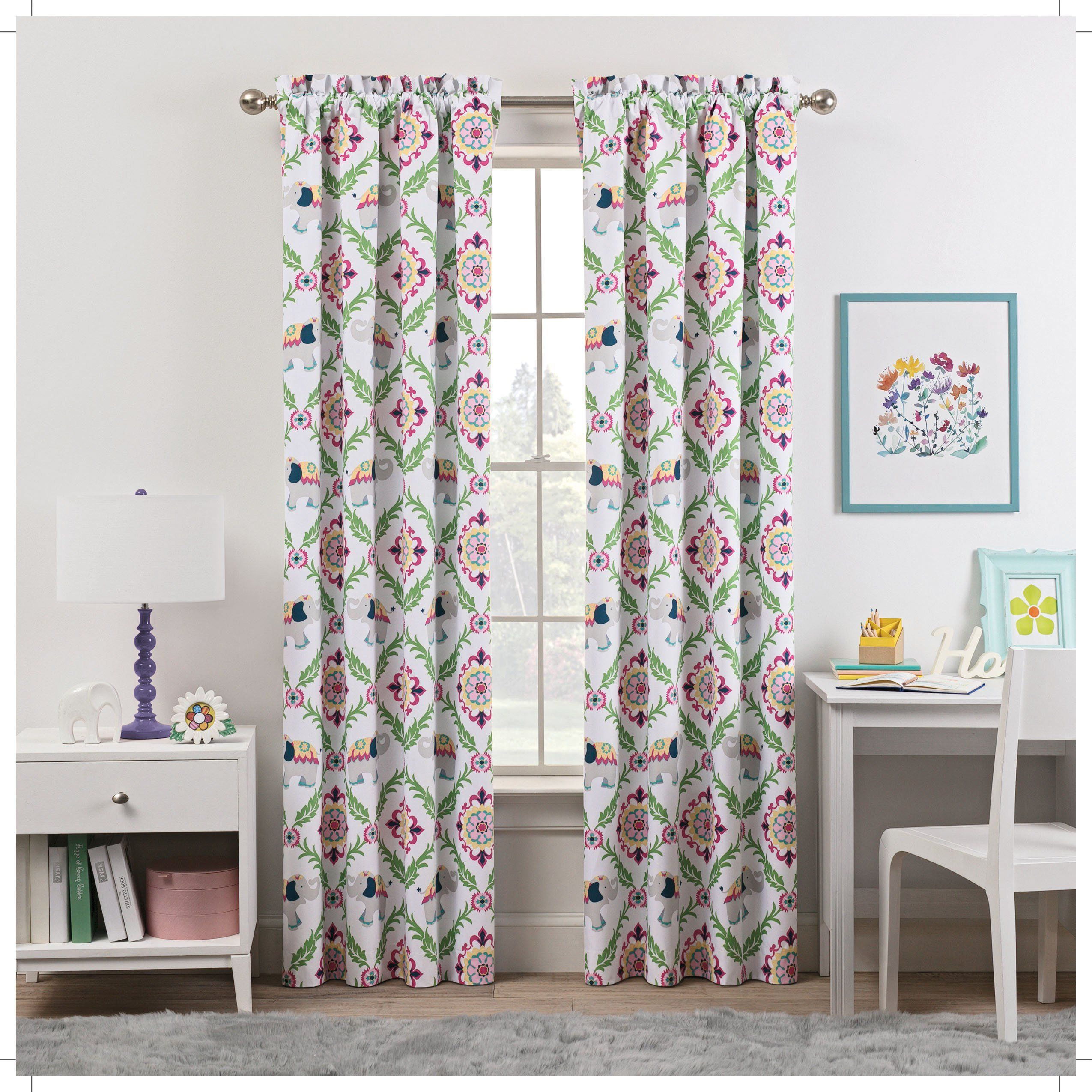 a91fed4602c2726f0a6cf6fa46c193cb - Better Homes And Gardens Global Elephant Shower Curtain