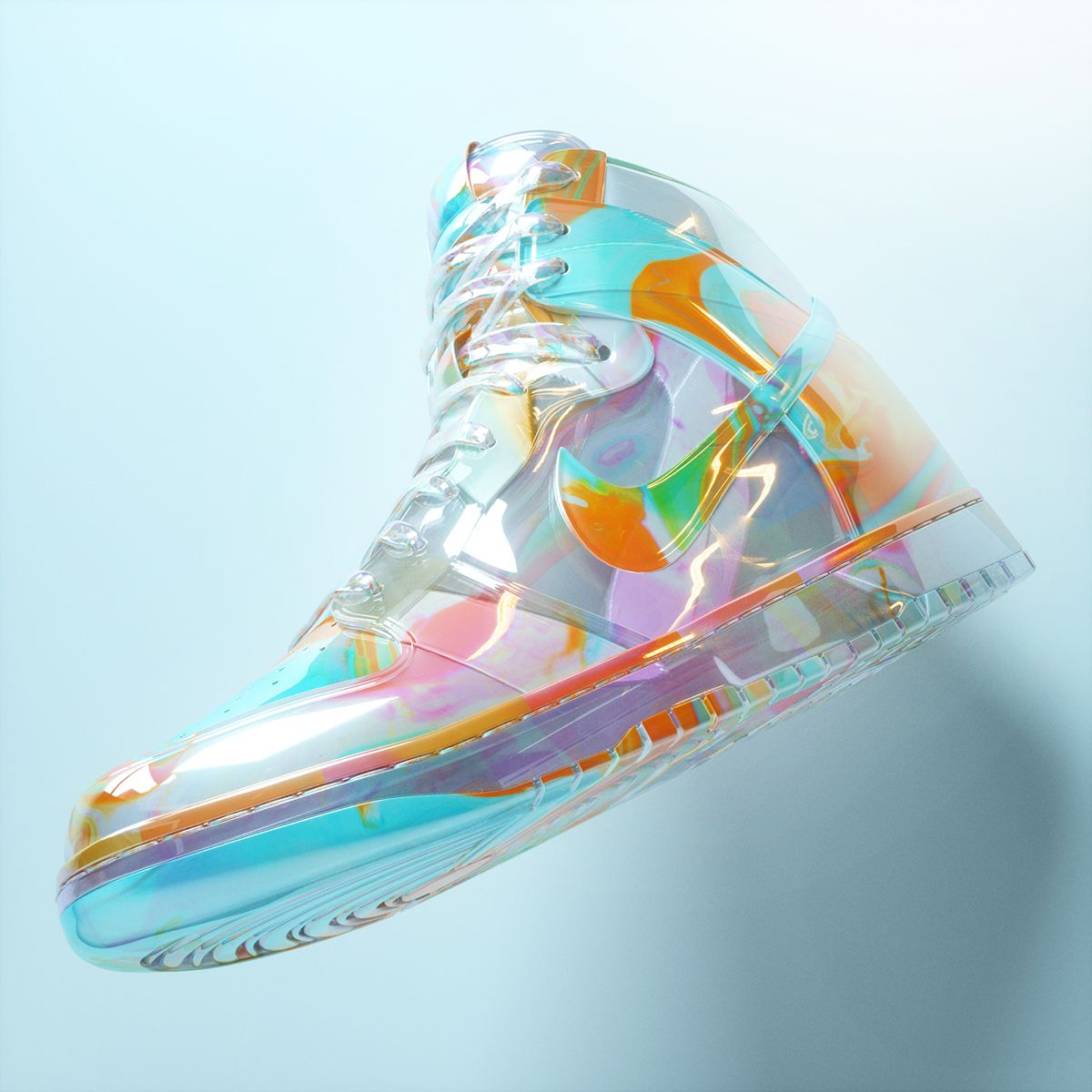 DIY HolographicIridescent Shoes! Adidas Inspired!