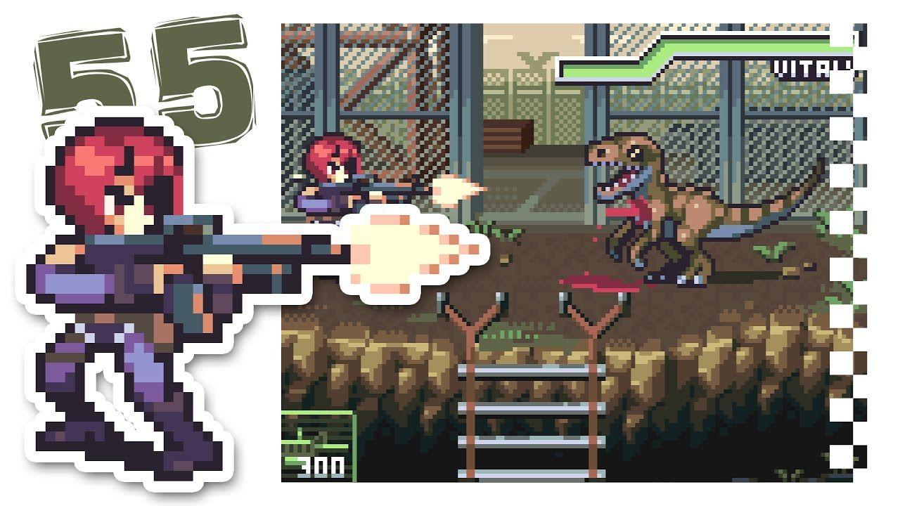 PIXEL ART TIME! - Dino Crisis 2 | Pixelart - Tutorial