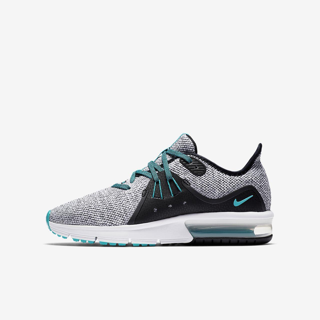 Nike Air Max Sequent 3 Big Kids' Running Shoe | Long