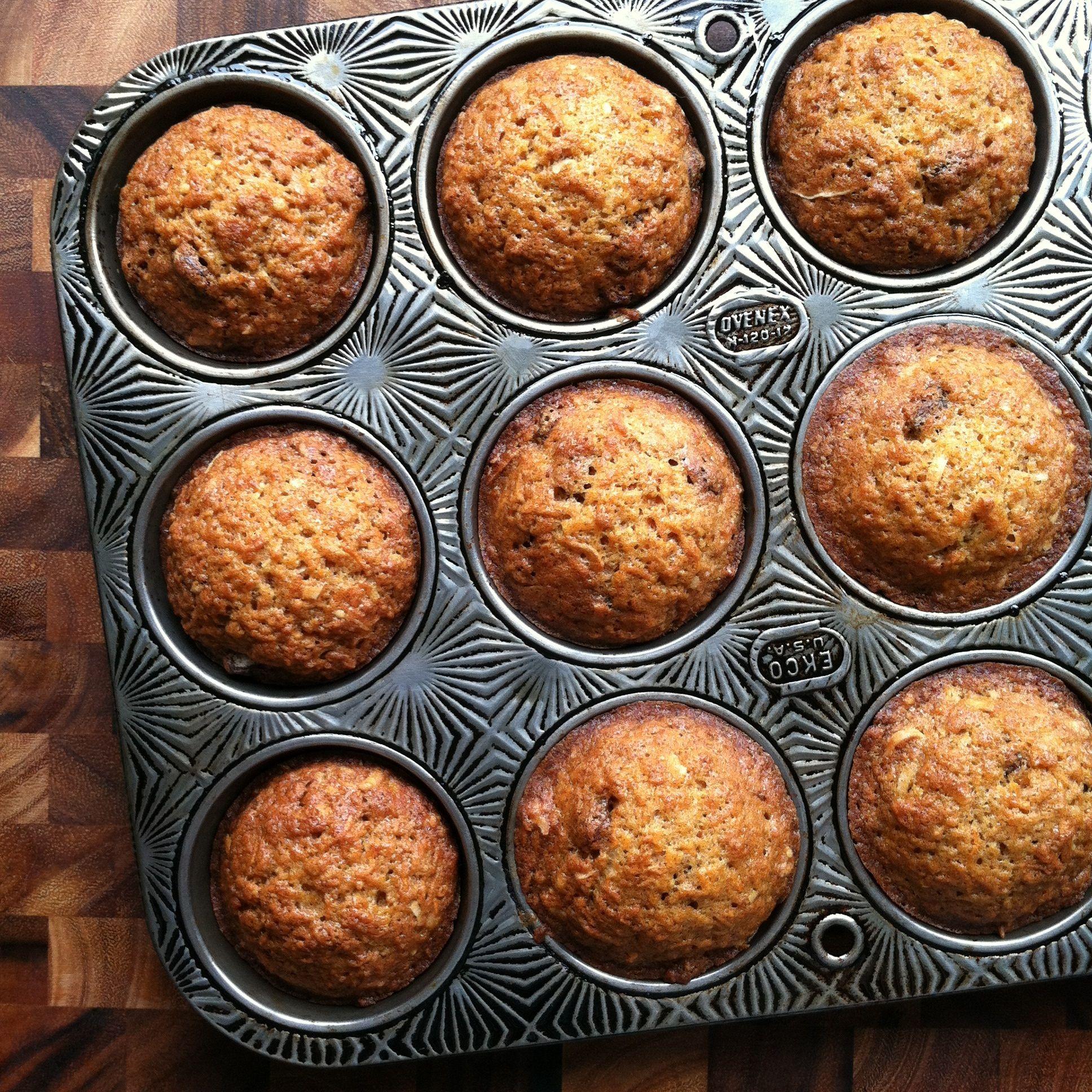 Morning Glory Muffins, Muffin