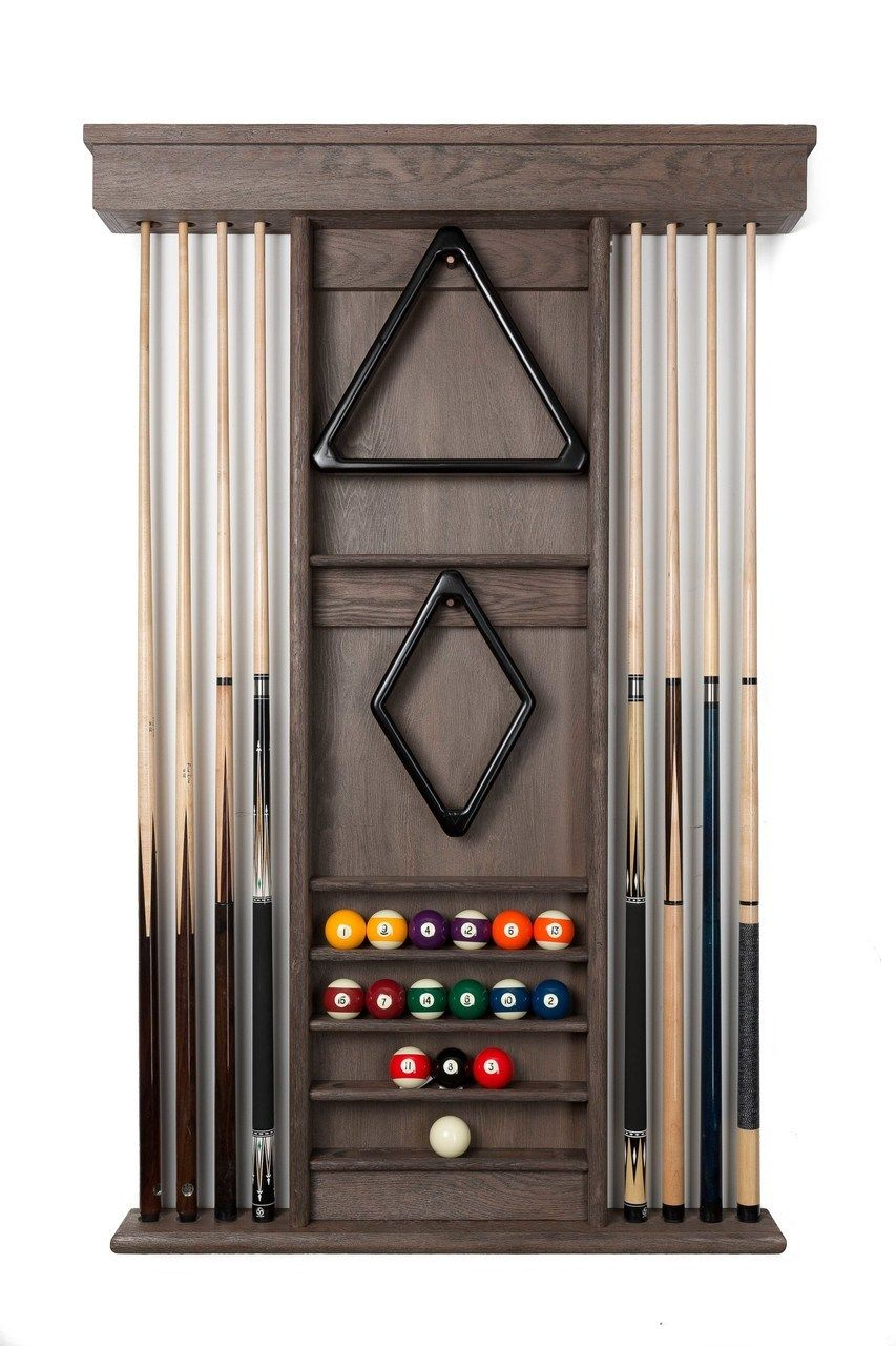 Ambassador Wooden Wall Rack Pool Table Place By D Jaburek Billiards Billiards Room Decor Pool Table Accessories Pool Table
