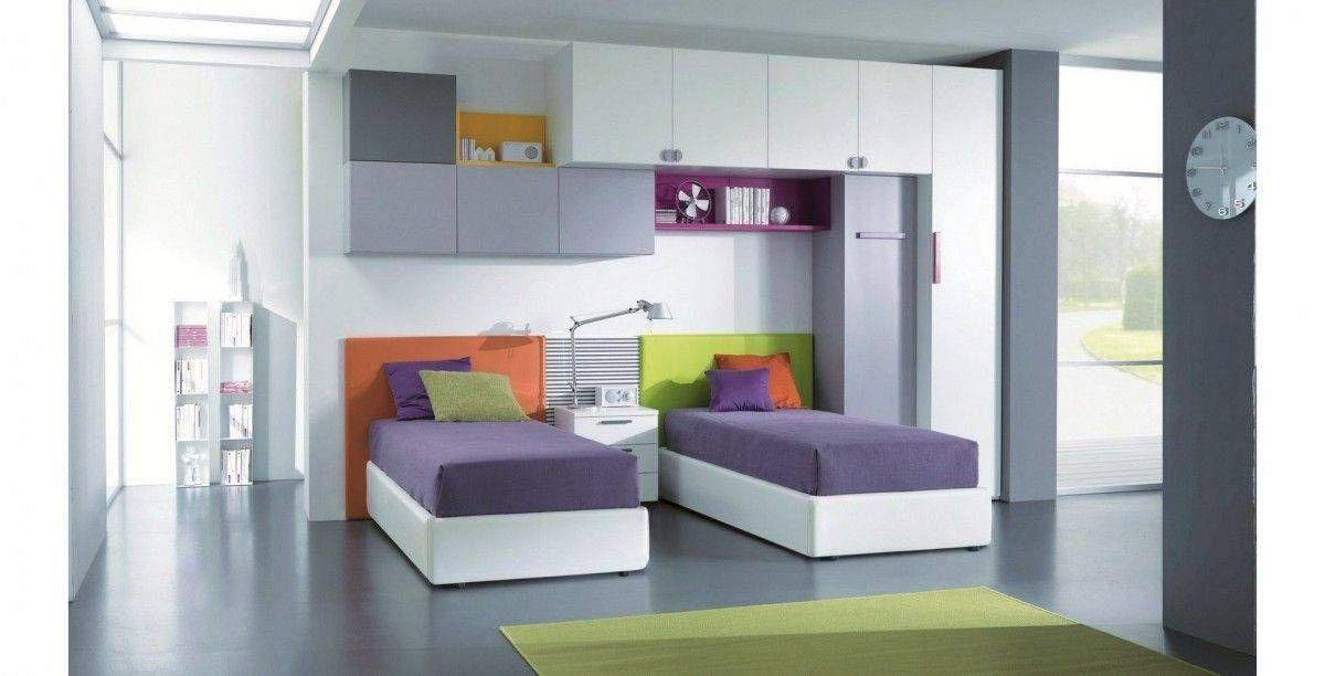 Risultati immagini per camerette con letti gemelli | Kids bedroom ...