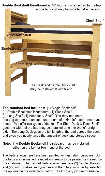 Http Www Collegebedlofts Com Order Loft Bed Html