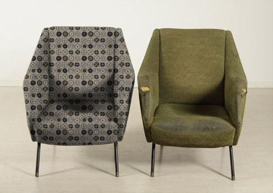 Best Armchairs 50 Before And After Whit Eames Fabric 400 x 300