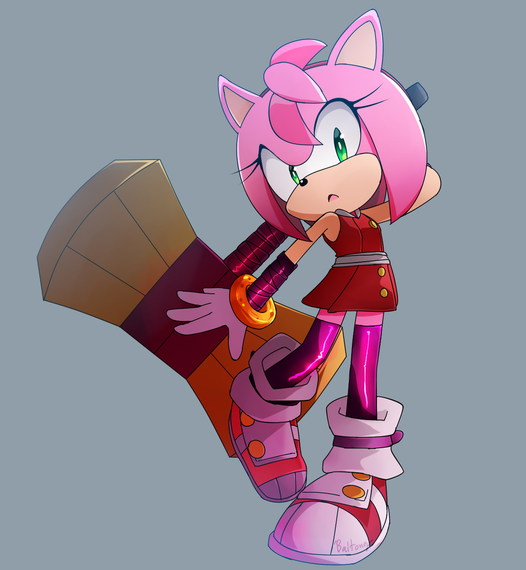 Amy Rose Sonic Boom Sonic Amy The Hedgehog Amy Rose